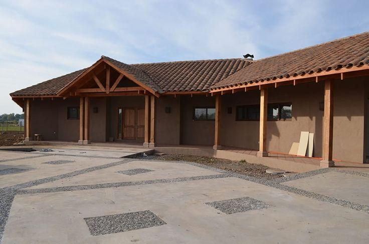 Una casita en la región central de Chile, encantadora y con…