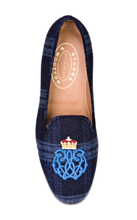 Stubbs & Wootton Windsor Navy Loafer by Stubbs & Wootton for Preorder on Moda Operandi
