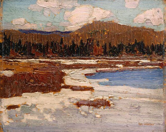 Tom Thomson  The Marsh, Early Spring, Spring 1916