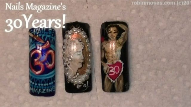 NAILS Magazine 30th Anniversary     I started doing Nails the same year Nails magazine was launched. I love this magazine. Among others for professional Nail Technicians.