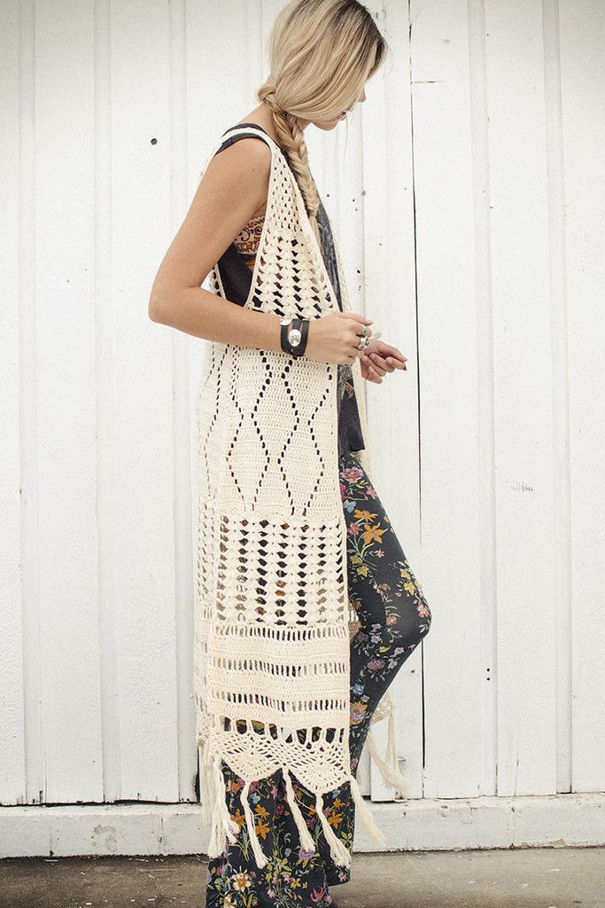 The Crochet Dylan Vest. Must have!!!!!!! So gorgeous