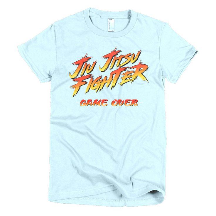 Jiu Jitsu Fighter Short sleeve women's BJJ t-shirt