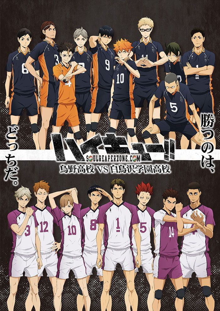 Haikyu!! 3rd Season Bluray [BD] Haikyuu anime, Haikyuu