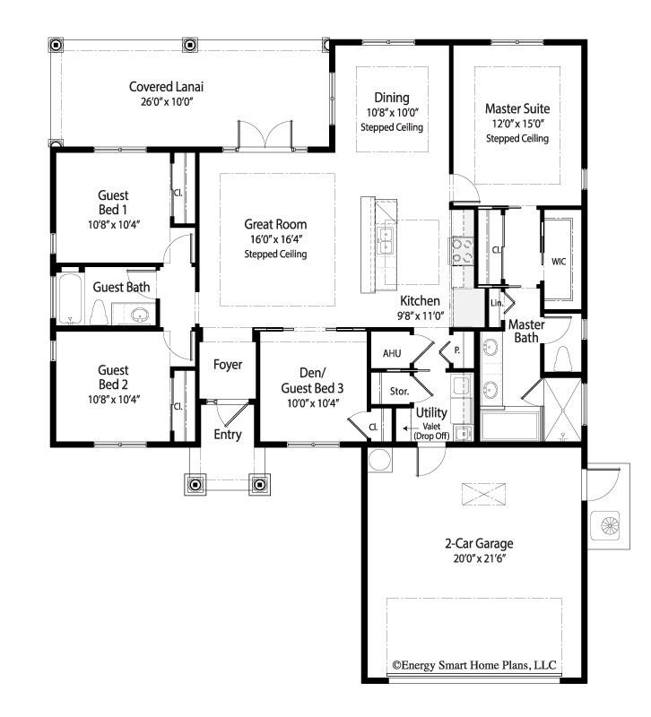 Marquise House Plan 238 3 Bed Den 2 Bath 1 619 Sq Ft Wright Jenkins Custom Home Design Stock House Floor Plans House Plans Floor Plans Mediterranean Style House Plans