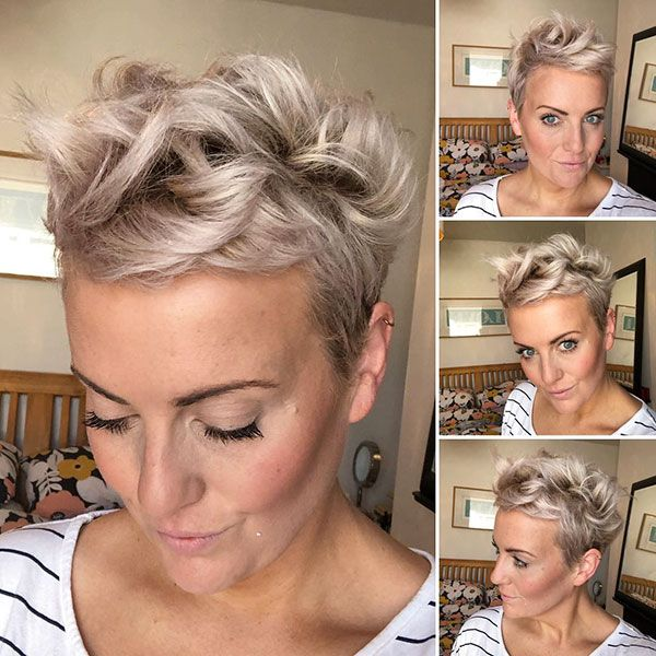 Pixie Crop Hair