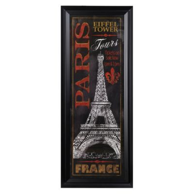 Paris City Tour Framed Art Print | Kirkland's