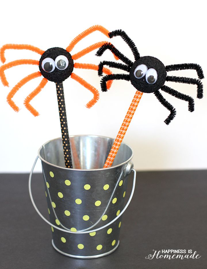 Cute Fun And Easy Halloween Crafts