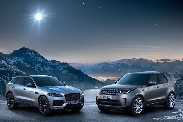 Jaguar Land Rover поздравляет Вас с Новым годом!