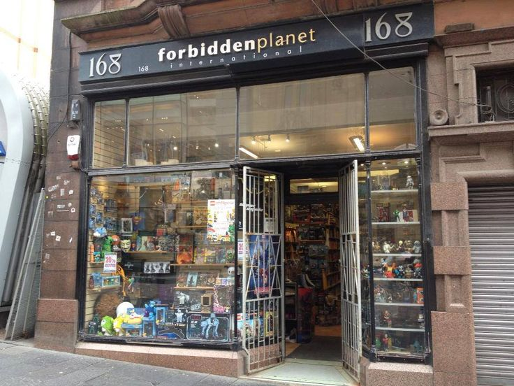 Glasgow Comic Con Spotlight - Forbidden Planet