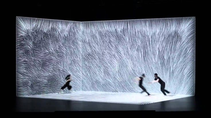 After their work Hakanaï, the studio Adrien M / Claire B return with a new interactive mapping performance entitled The Air Movement. This is a dance where a...