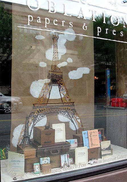 Adorable Parisan store window!
