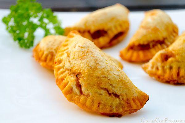Empanadillas de atun y pisto al horno - Receta paso a paso - Sin Gluten - Recetas paso a paso con fotos - Cocina Con Poco