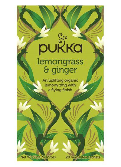 Pukka Lemongrass & Ginger Tea - Pukka