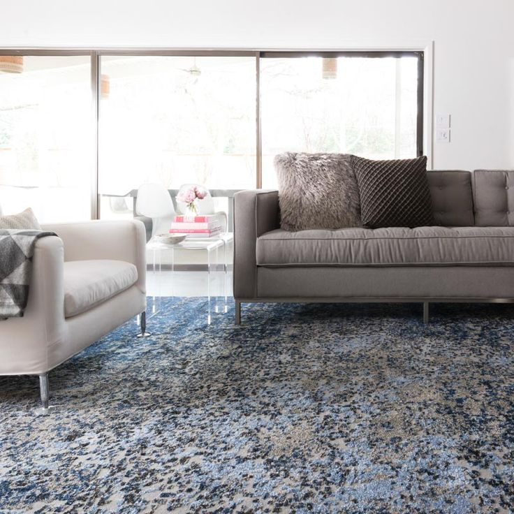 Viera Rug Grey Navy A Distinctive Area Rug For Home Or
