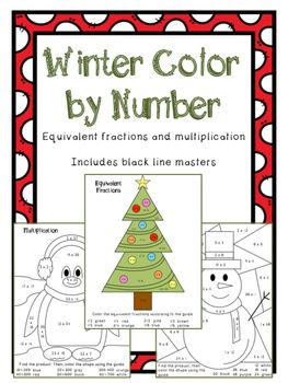 winter coloring pages math fractions - photo#7