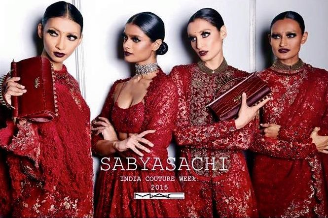 Sabyasachi India Couture Week 2015 AICW2015 Bater Red