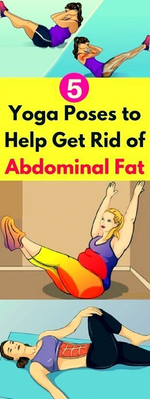 5 Yoga Poses To Help Get Rid Of Abdominal Fat – Page 2 – 88 Healthy For livi…