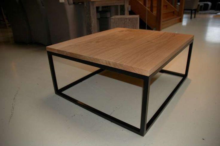 25+ beste idee u00ebn over Metalen Salontafels op Pinterest   Glazen salontafels, Houten tafel