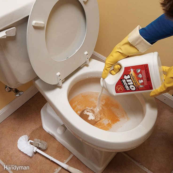 The Right Stuff for Rust - All-purpose cleaners won't remove rust stains from sinks, tubs and toilets, even with a lot of elbow grease. The trick is to use a stain remover like Super Iron Out. Look for a rust stain remover or a product that contains diluted hydrochloric acid (also listed on product labels as hydrogen chloride, HCL or muriatic acid). Be careful not to use a product containing bleach—it'll set the stain.For toilets, add Super Iron Out to the water in the bowl, then clean with…