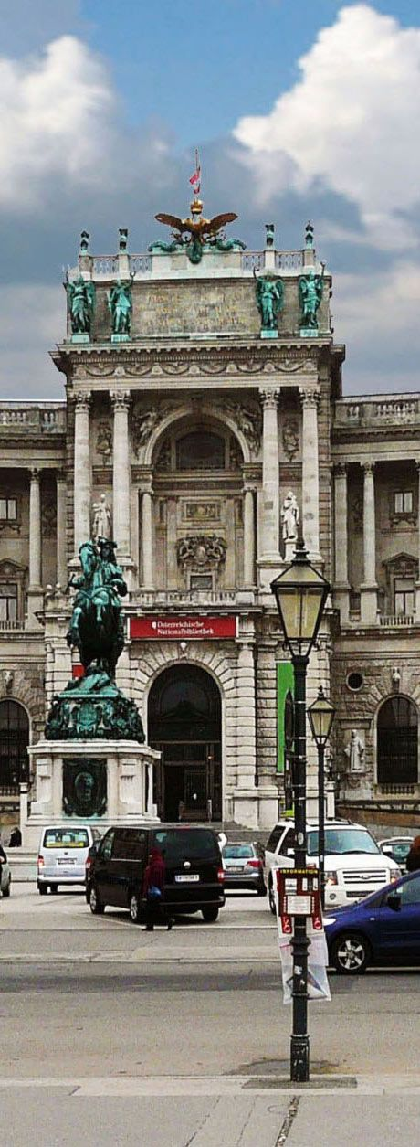 The Austrian national Library - Located in the Hofburg Palace in Vienna | Austria