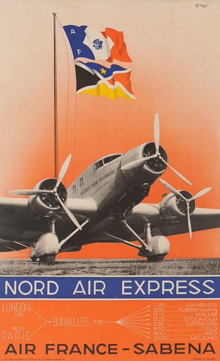 Sabena Air France / tri-motor