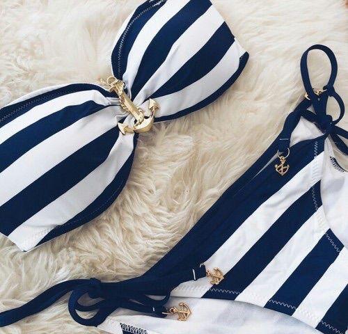 Image via We Heart It #bikini #fashion #style #swimwear