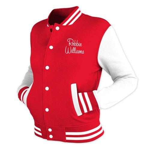 Shop > Varsity Jacket | Robbie Williams