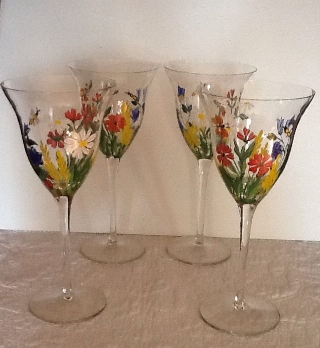 26 Best Images About Antique Wine Glasses On Pinterest