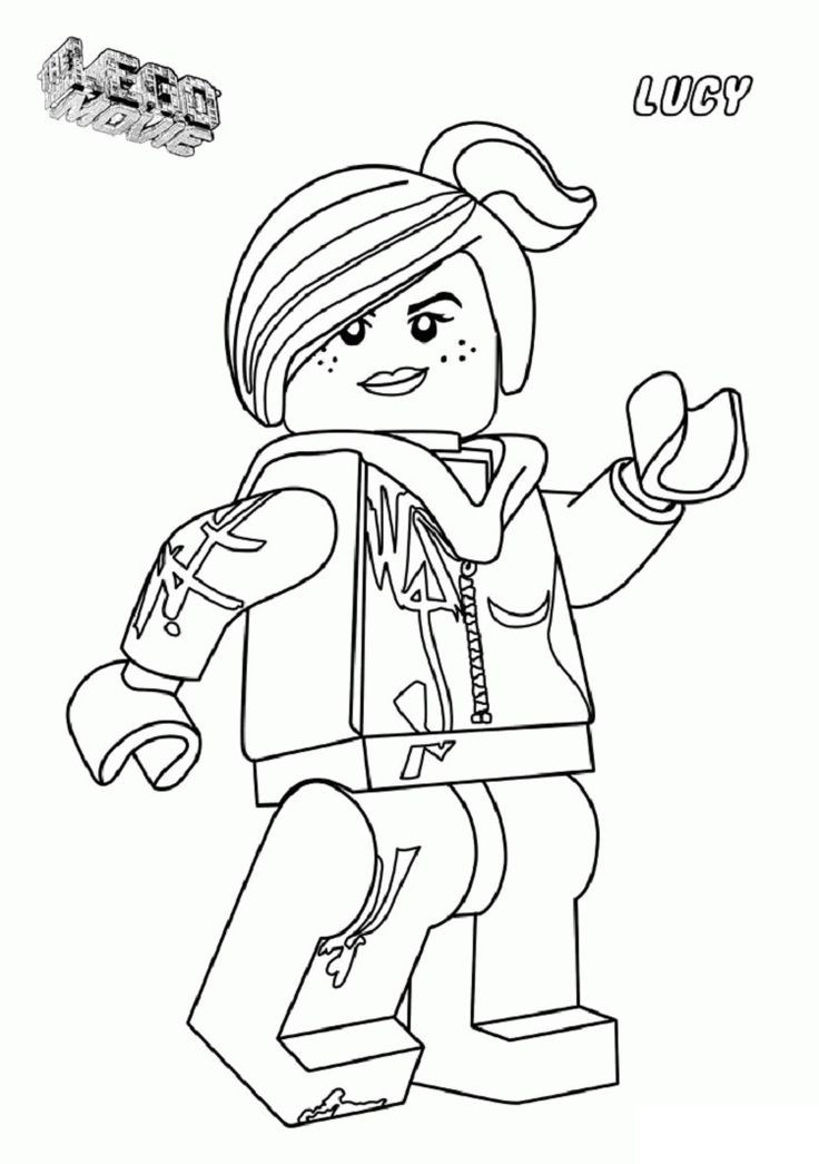 lego wyldstyle coloring pages Lego movie coloring pages