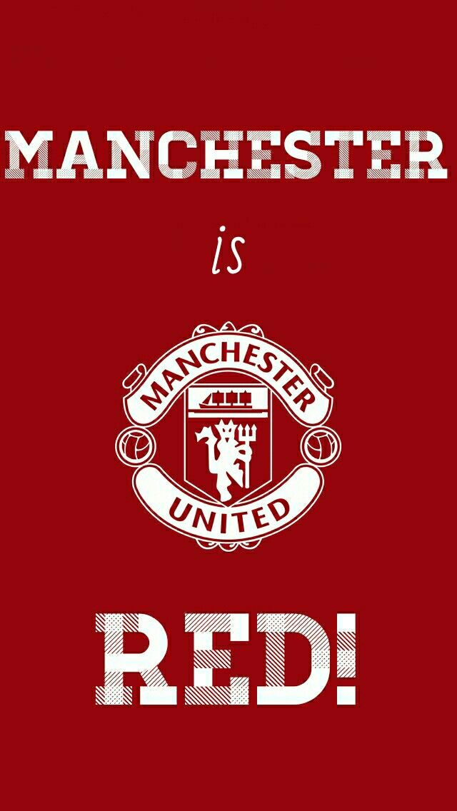 MANCHESTER is RED!