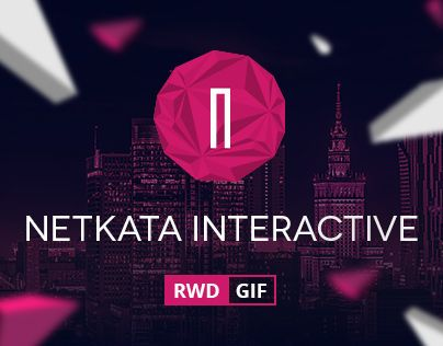 New website design for Netkata Interactive - Warsaw based agency.Lead designer: Piotr KmitaDesigners: Kamil Bachanek, Małgorzata Filipek, Sebastian ŁubaFirst raw ideas: Magłgorzata Mirkowicz, Grzegorz Grodnerhttp://netkata.com