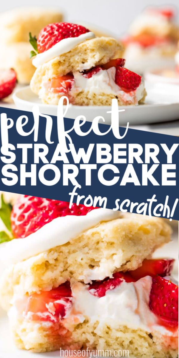 Strawberry Shortcake With Sweet Buttermilk Shortcake Biscuits Recipe In 2020 Shortcake Biscuits Strawberry Recipes Fall Dessert Recipes