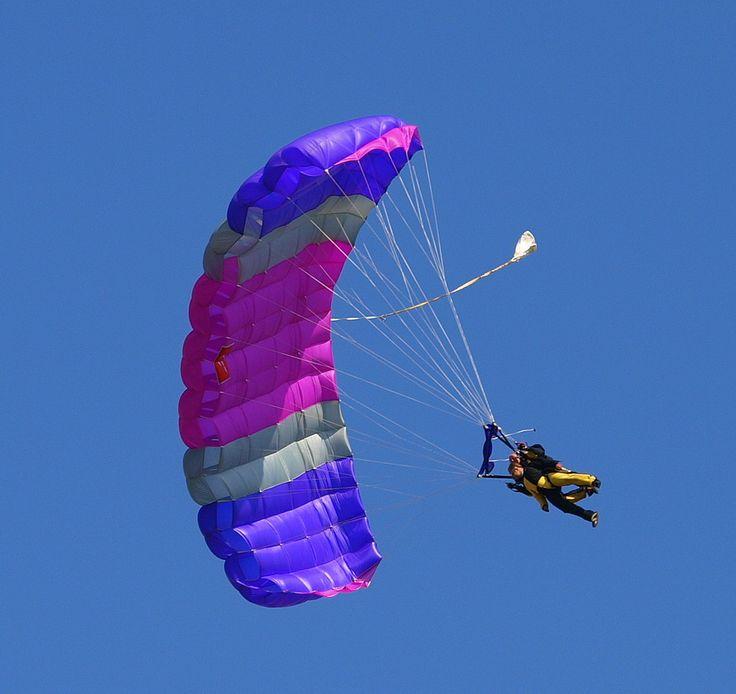 Fallschirm-Tandemsprung - Bild & Foto von Tausend Ulrich aus ...