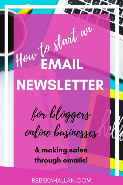 Email Newsletter - Rebekah Allan | Sending out regular email newsletters is a brilliant marketing strategy for a blog and online business. It is another way to keep in touch, another 'contact point', build a relationship, build the 'know, like and trust' factor, special deals and remind people that you are around… without being a cheesy-used-car-salesman.