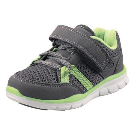 Reima Кроссовки Reima  — 2499р. -------------------------------- Эти ботиночки, которые легко обувать и легко чистить, просто незаменимы в веселую весеннюю и летнюю пору! Модные и легкие ботинки Reima® для малышей превосходно подойдут активным маленьким любителям летних приключений. Верх изготовлен из дышащего материала из mesh-сетки, а бесшовная лайкровая подкладка защитит ножки от натирания. Благодаря эластичным шнуркам и удобному ремешку на липучке малыши смогут надеть эти ботинки сами…