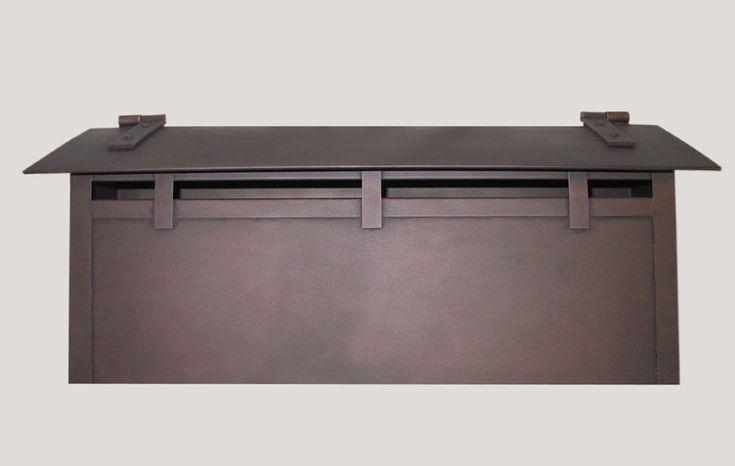 craftsman wall mailbox | Ranch Style Craftsman Mailboxes and Doorbells