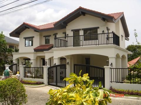 Home modern design on philippines real estate in cebu for Simple bungalow house design with terrace