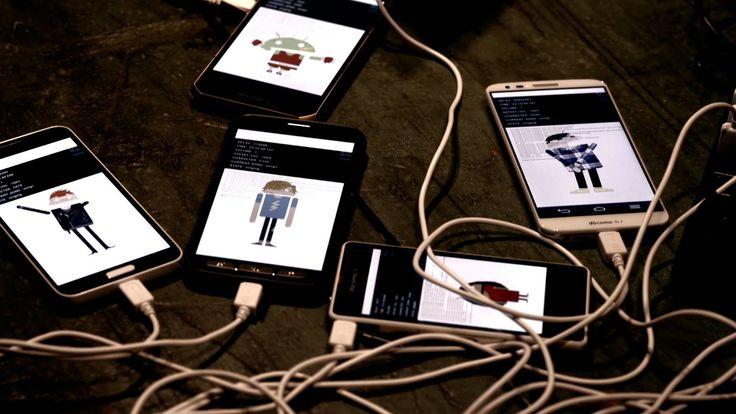 Android が搭載されたスマホ、タブレット、 計 300 台で構成された世界ではじめての合唱団です。 各端末の中の Android キャラクター達が、 それぞれ違ったパートを唱うことで、 これまで誰も聴いたことのないハーモニーを生み出します。 お届けするのは、ベートーベン 交響曲第 ...