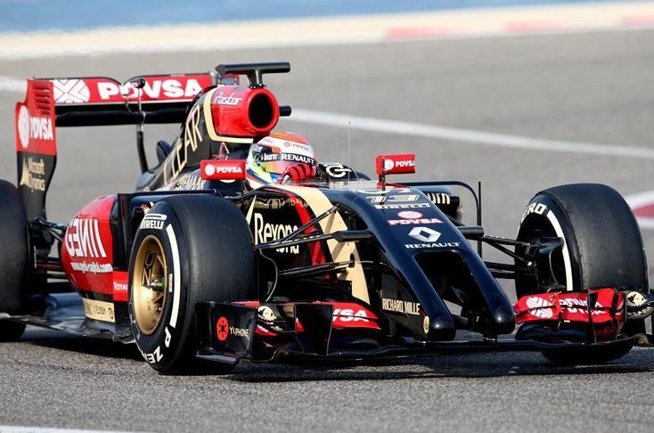 "Team Lotus insist that they are making ""strong progress"" with  Renault-powered E22, despite it completing just 111 laps."