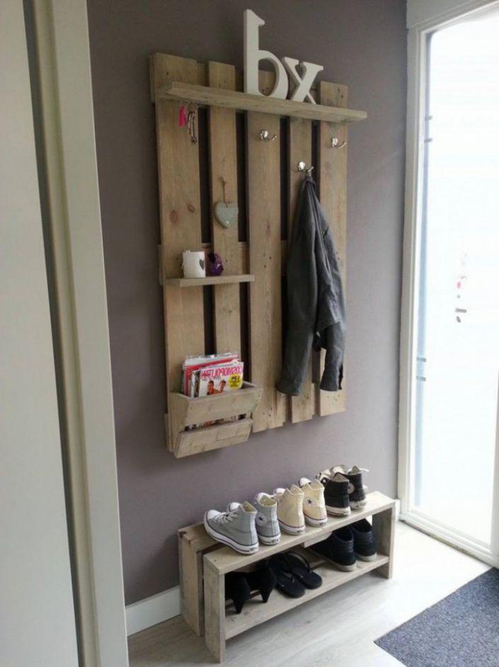 die besten 25 garderobe selber machen ideen auf pinterest diy garderobe selber machen ideen. Black Bedroom Furniture Sets. Home Design Ideas