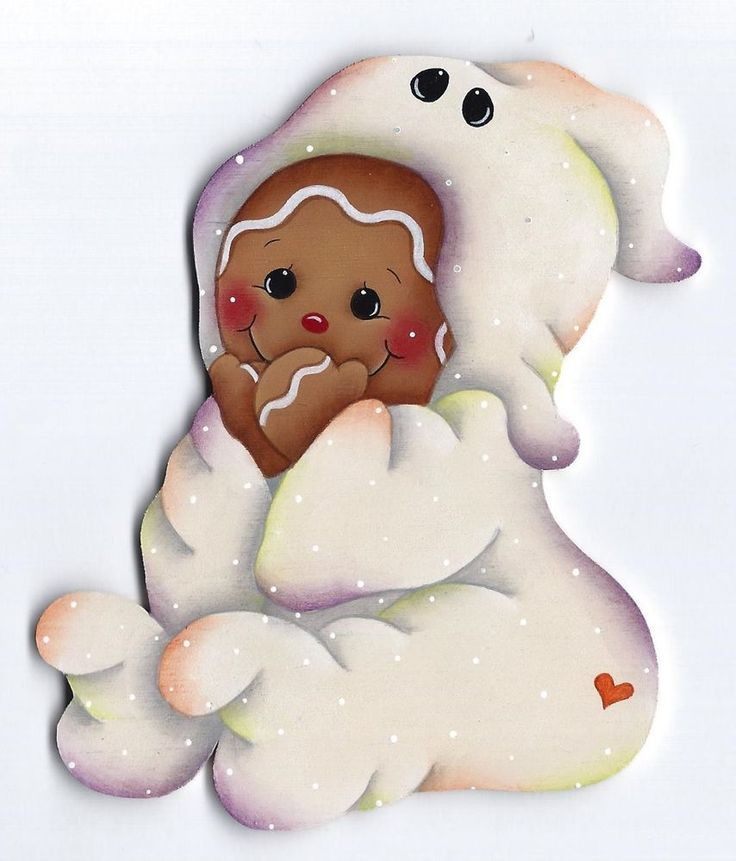 HP GINGERBREAD Ghost Halloween Costume FRIDGE MAGNET