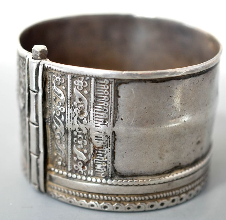 Very nice silver cuff from Rajasthan area archives sold Singkiang