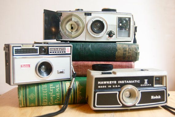 Instamatic Cameras, Instant Collection from Falcon & Finch on Etsy