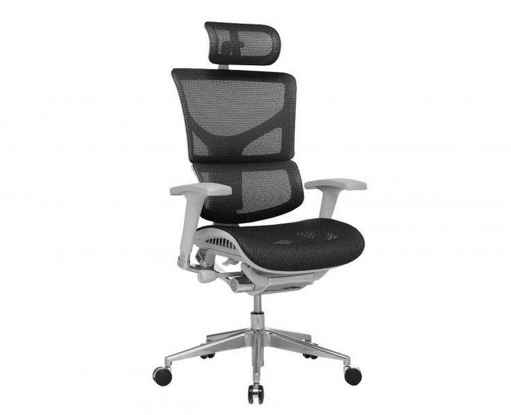 Luxury Office Chair Ergonomic Height Adjustable Arms Comfort Rolling Head Rest  #LuxuryOfficeChair #ExecutiveManagerialChair