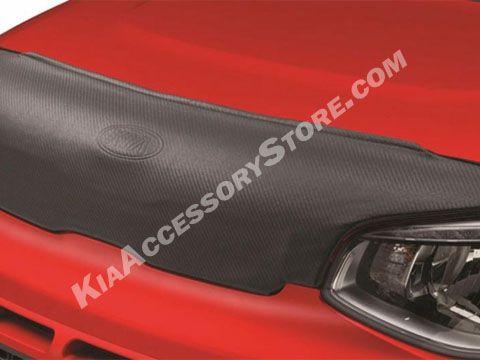 Kia Accessory Store- 2014-16 Kia Soul Hood Mask www.KiaAccessoryStore.com