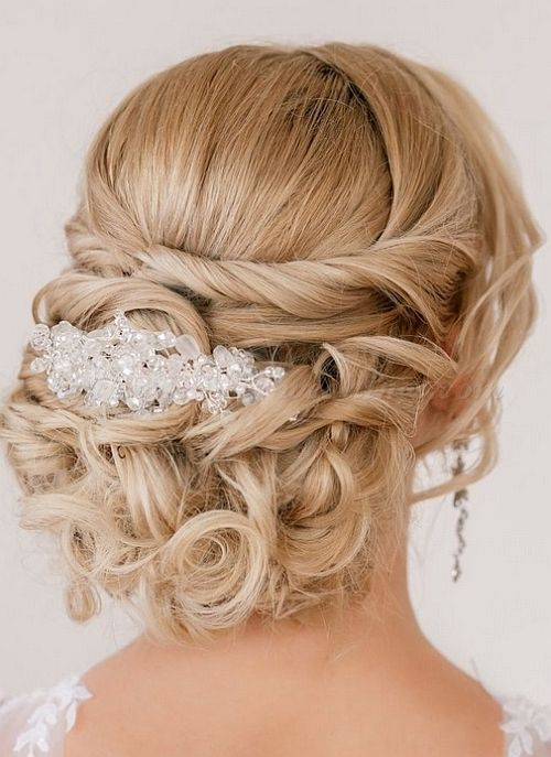 Chignon Wedding Hairstyles Updos Long Hair                                                                                                                                                                                 More