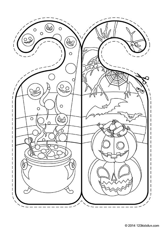 picture about Halloween Crafts for Kids+free Printable titled Halloween Cost-free Halloween printables and Halloween