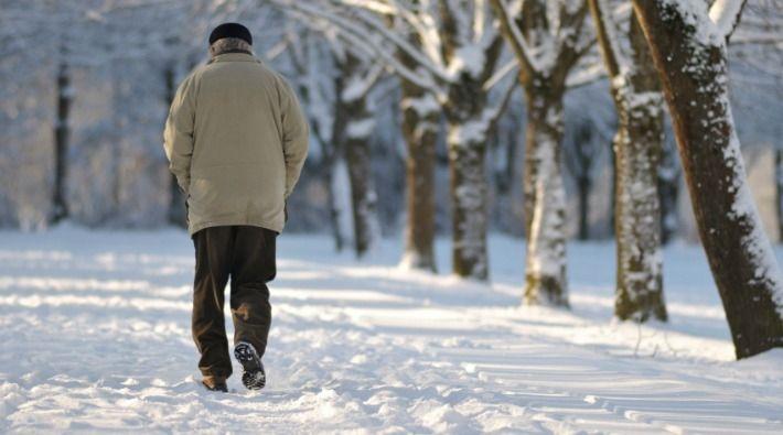 Walking safely on icy sidewalks