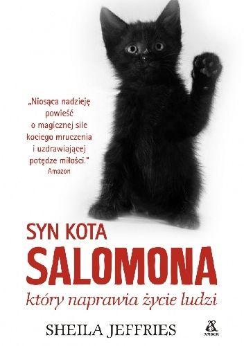 Okładka książki Syn kota Salomona, który naprawia ludzkie życie