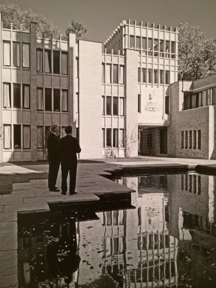 Courtyard at Massey College, Ron Thom.